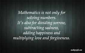 forgiveness mathematics