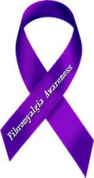 Fibro Awareness Ribbon