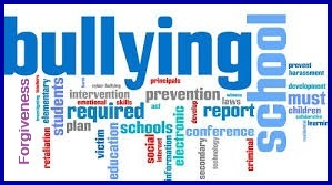 Bullying Word Art