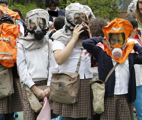 gas masks; terrorism