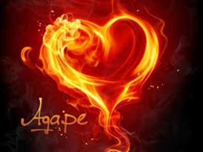 Heart - agape love.